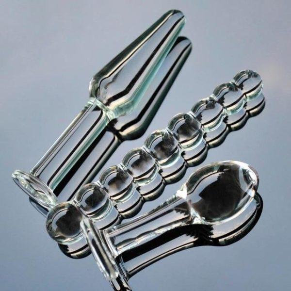 Crystal Glass Plug