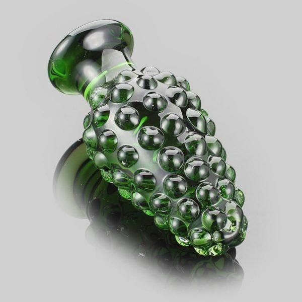 Green Glass Plug