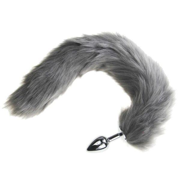 Furry Pink Tail Plug