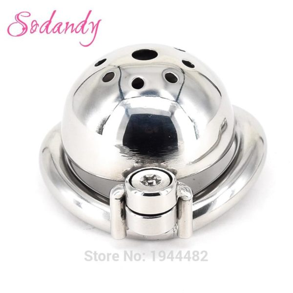 Super Small Male Chastity Devices Stainless Steel Mens Cock Cage