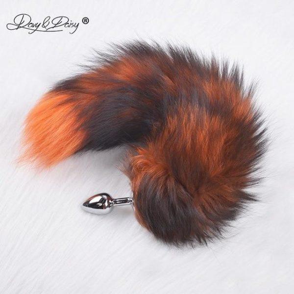 Fox Furry Tail Metal Plug