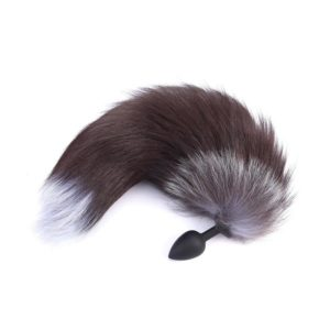 Silicone Fox Tail Plug