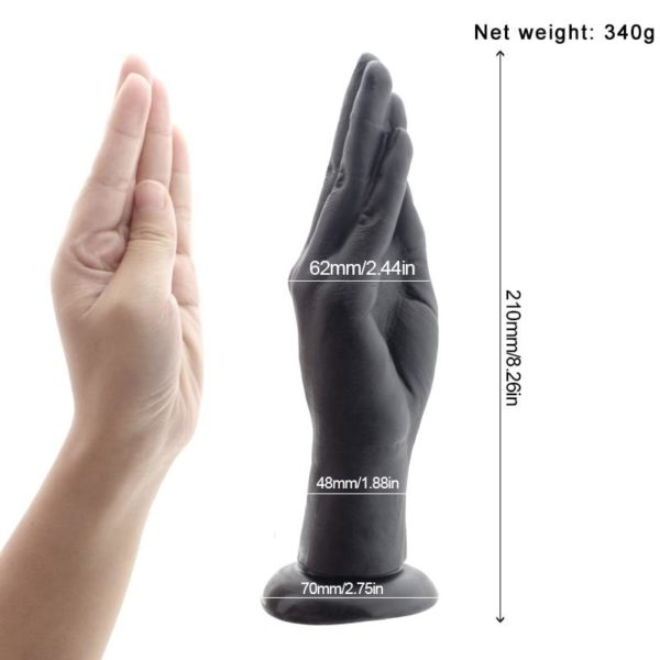 Silicone Suction Cup Fist Dildo