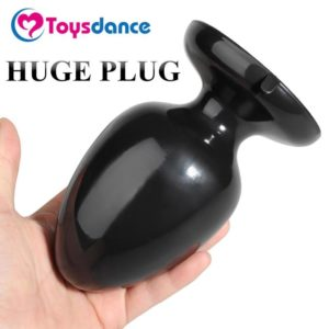 Adult Large Black Plug