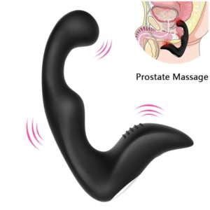 Silicone Vibrator Prostate Massager