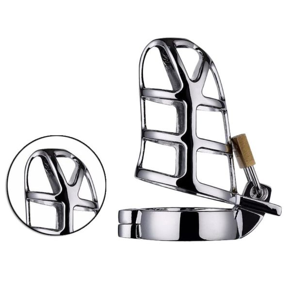 Male Chastity Device 50mm Scrotum Cock Ring