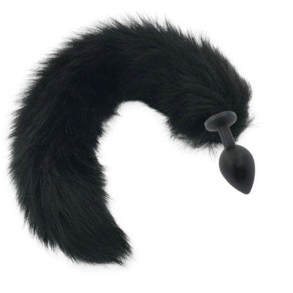 Black Cat Tail Plug
