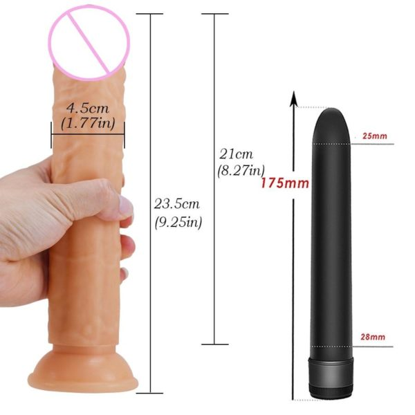 Realistic Suction cup Dildo for Women A