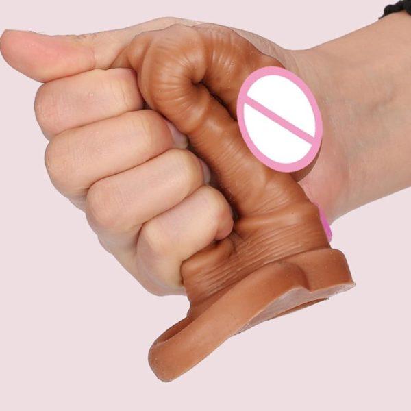 4MB Dildo Extender Penis Enlargement Reusable Condoms
