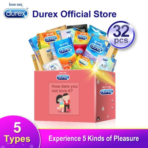 4MB Durex Condom Mix 32Pcs AiR Ultra Thin